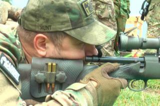 В Калужской области прошли соревнования по снайпингу